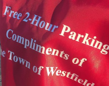 Happy Red Meter bags prevent parkers from paying! Woohoo!